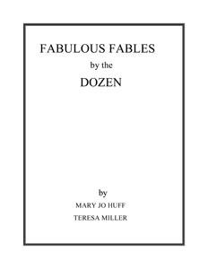 Fabulous Fables by the Dozen