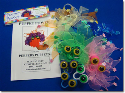 Peepers Puppets Super Duper Pak