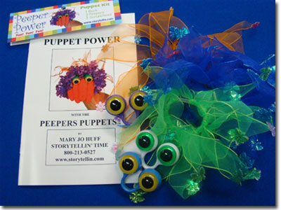 Peepers Puppets Super Pak