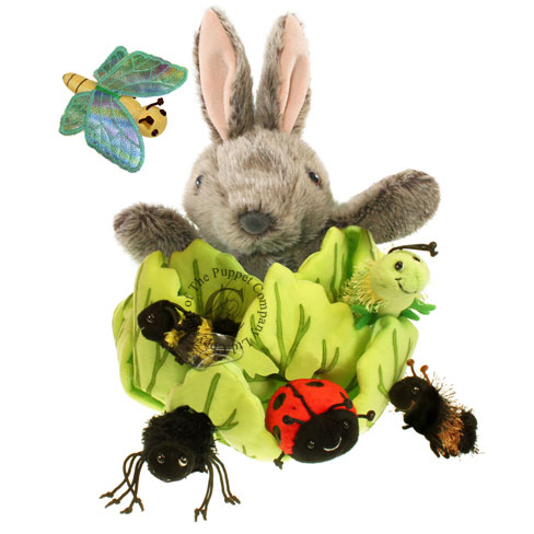 Rabbit in Lettuce