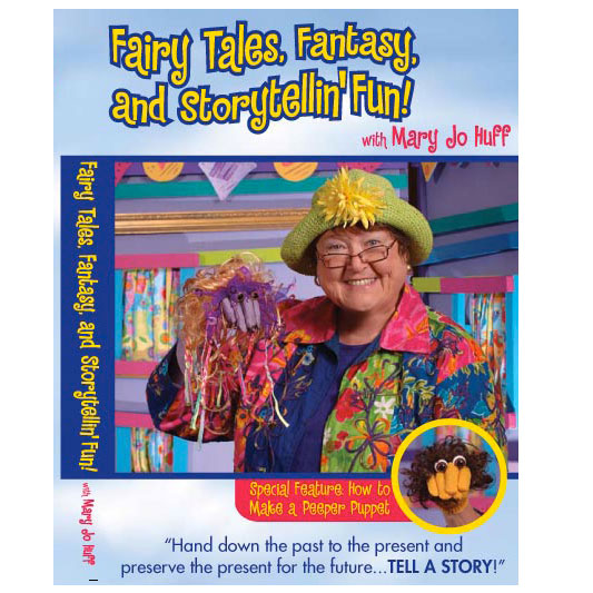 Fairy Tales, Fantasy, and Storytellin' Fun - DVD
