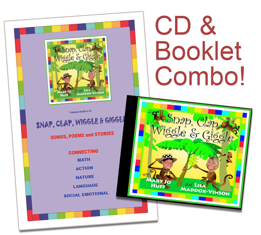 Snap, Clap, Wiggle & Giggle - CD & Booklet